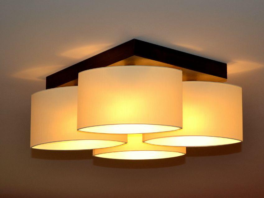Deckenlampe Deckenleuchte Lampe Leuchte 4 flammig Edles Design ROMA ROD4 NEU  eBay
