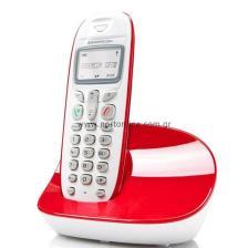 Ασύρματο Τηλέφωνο Sagem D270 ECO Λευκό-Κόκκινο 3425163573265