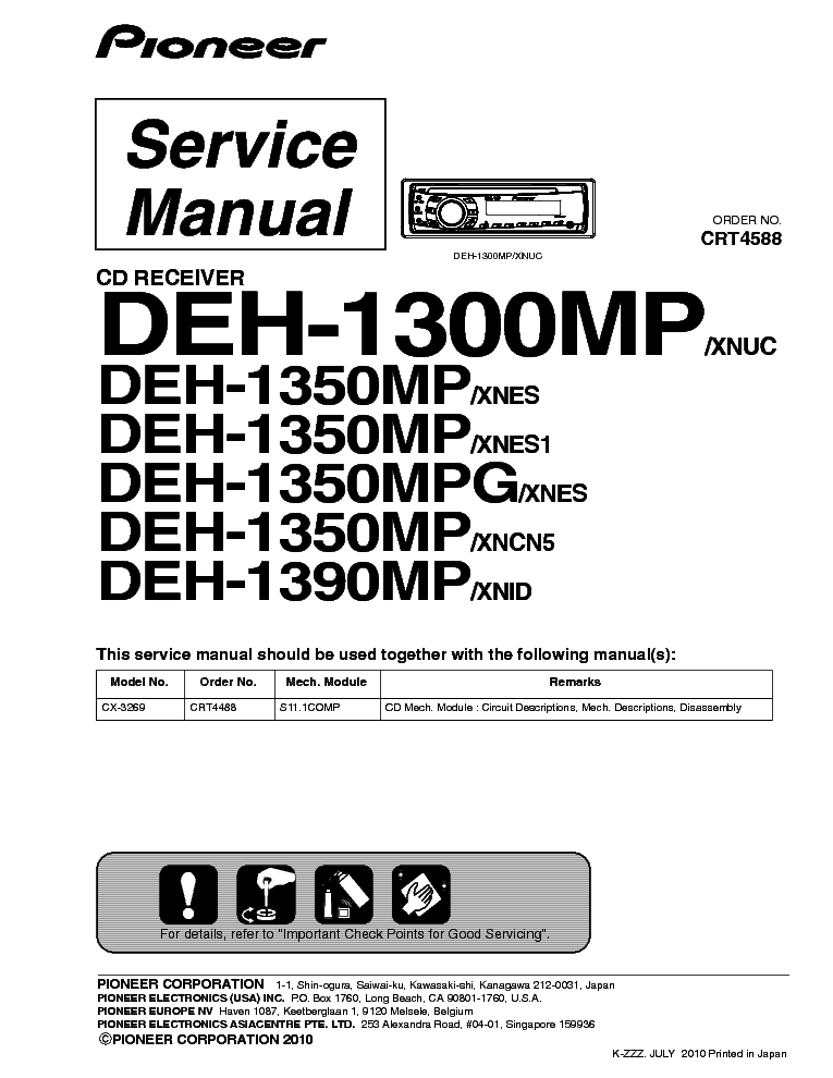 pioneer_deh 1300_1350_1390mp.pdf_1 pioneer deh 1450 wiring diagram pioneer deh x55hd wiring diagram Pioneer Car Stereo Wiring Diagram at bayanpartner.co