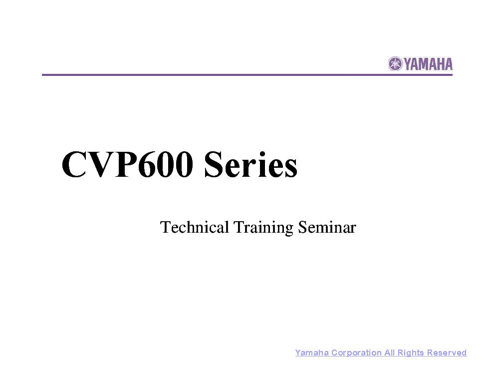 YAMAHA MOXF6 MOXF8 Service Manual download, schematics