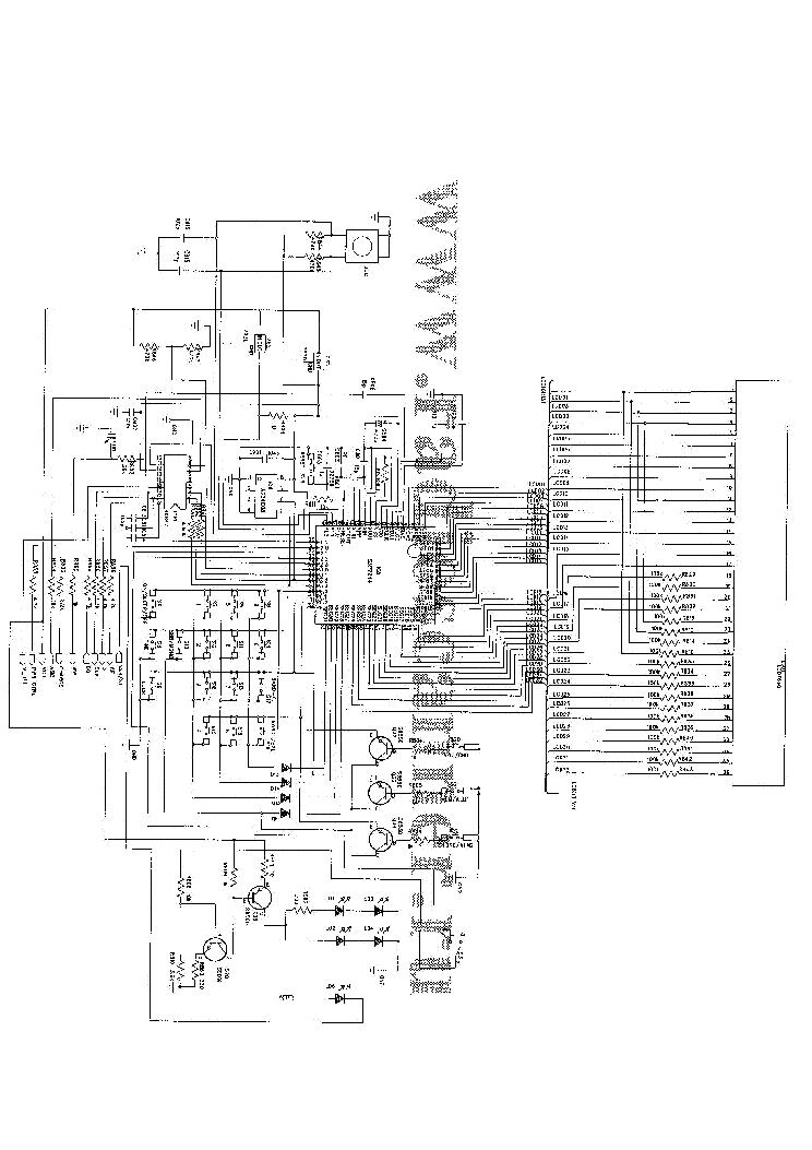 DEGEN DE1103 Service Manual download, schematics, eeprom