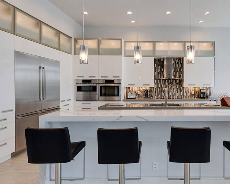 Kitchen Cabinet Doors  Custom Made Modern Aluminum Frame