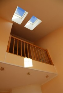 Skylight installed by Element Roofing in Pleasanton, CA.