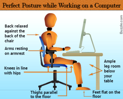 proper chair posture at computer shower chairs lowes office time: friend or foe - element