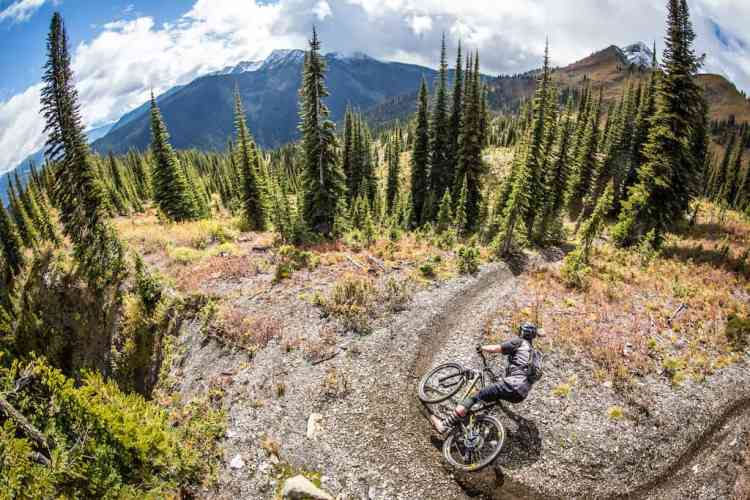 Out for a rip on the 2017 Kona Hei Hei Trail
