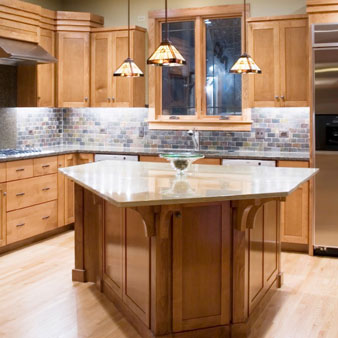 led kitchen lights cabinets unfinished revamp the for less with elemental lighting