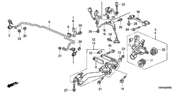 Honda Crv Rear Suspension Diagram