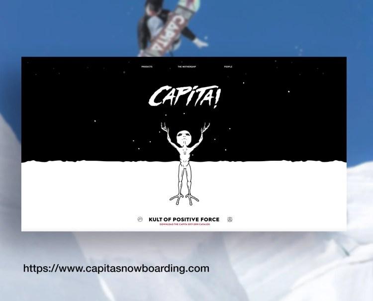 Capita Snowboard Site