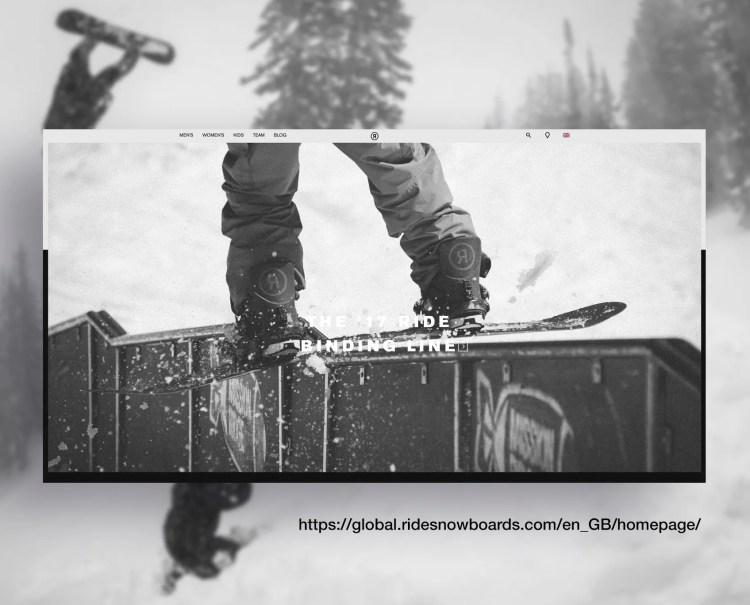 Ride Snowboard Site