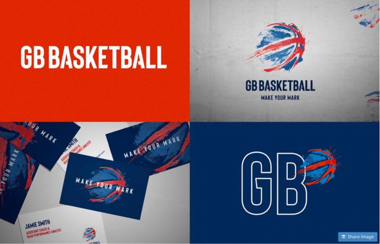 GB Basketball Logo Usage