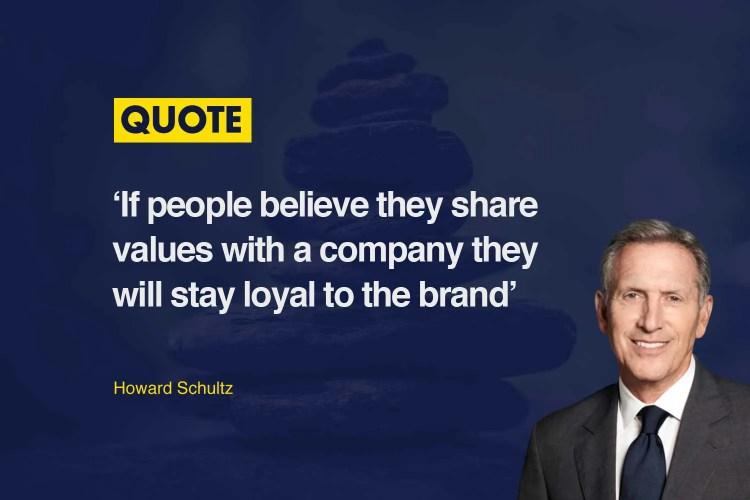 Howard Schultz Brand Values Article