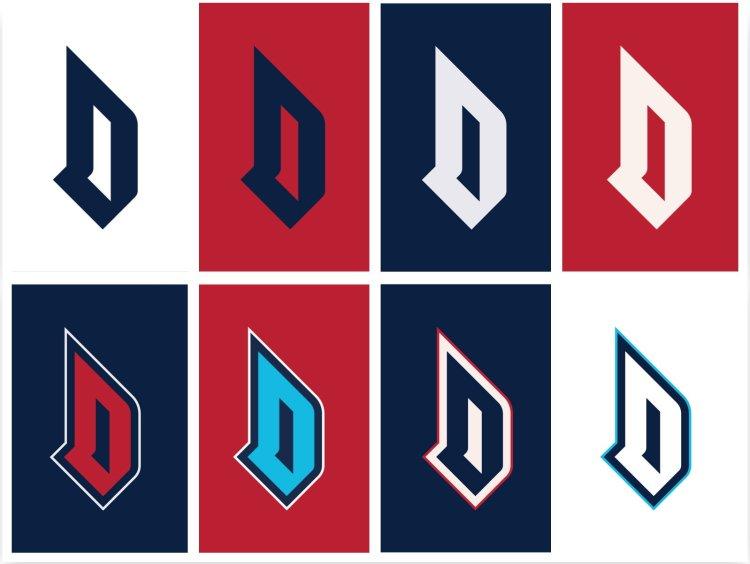 Duquesne Dukes Rebrand Monogram Variations