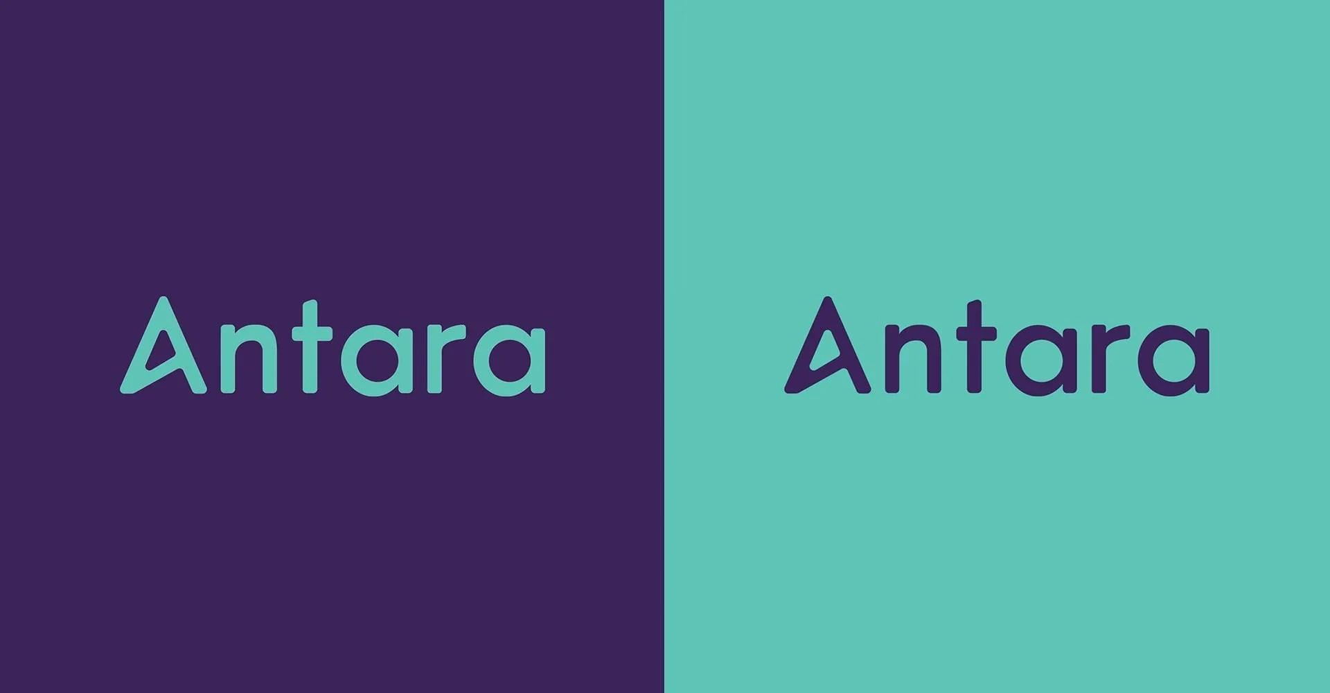 Antara Logo Design