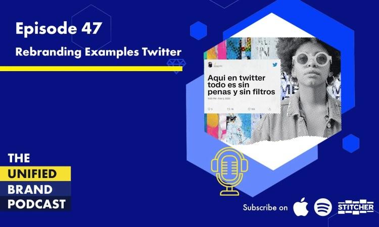 Rebranding Case Study - Twitter Rebrand 2021