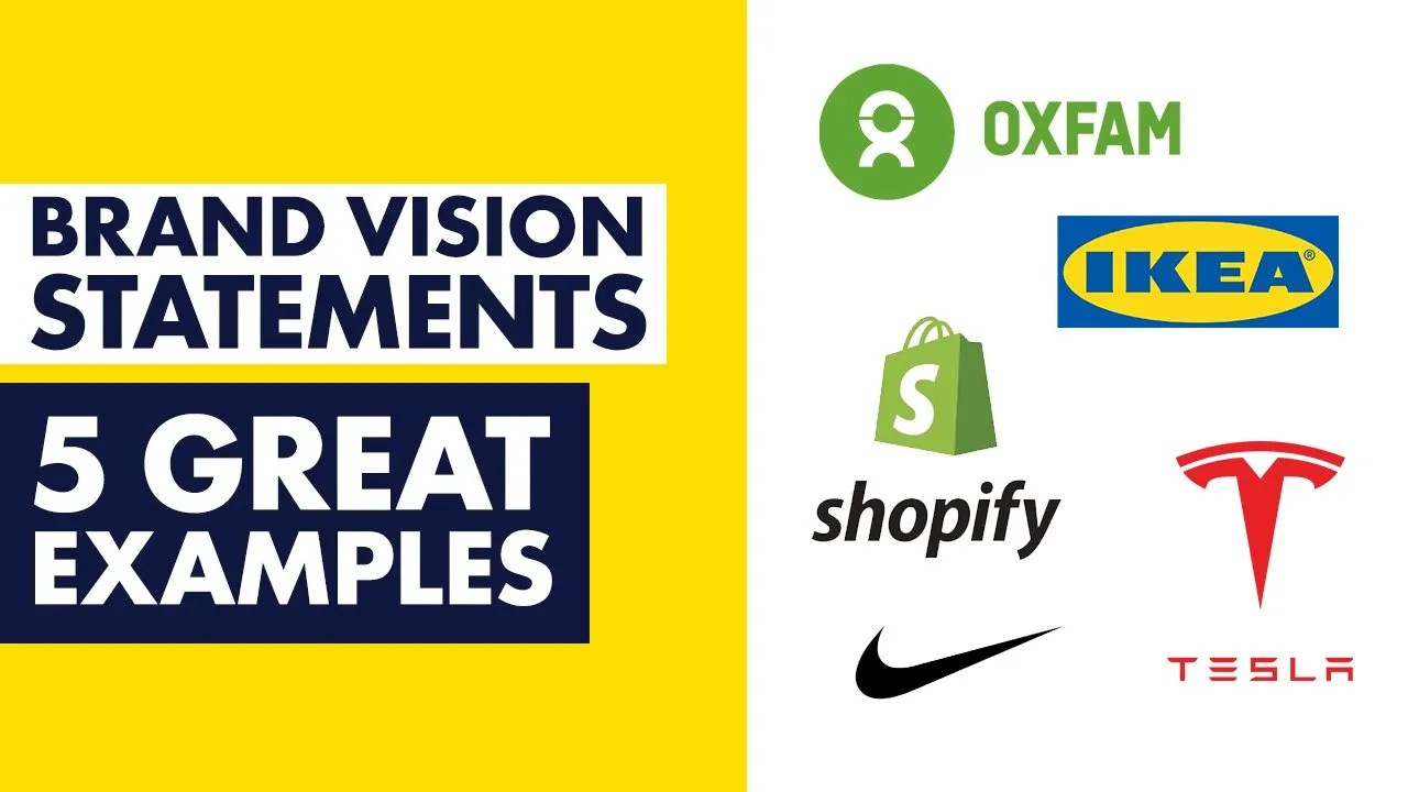 5 Great Brand Vision Statement Examples