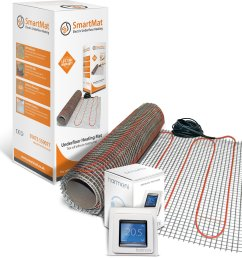 smartmat 150w m2 9 0m2 1350w underfloor heating kit harmoni 50 thermostat element shop [ 2482 x 2481 Pixel ]