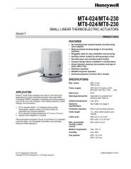 Honeywell Small Linear Thermoelectric Actuator with