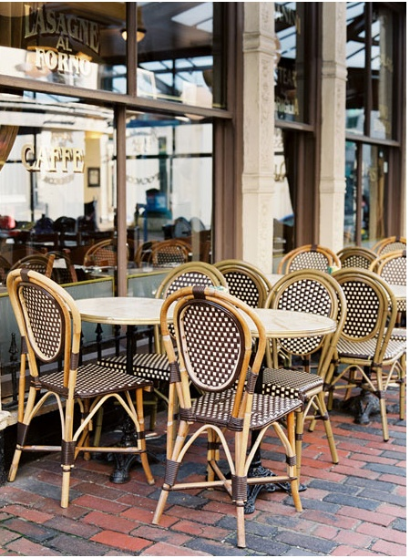 parisian cafe chairs armchair covers for office a touch of paris elements style blog