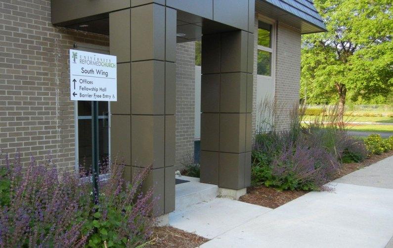 Office Entrance Summer