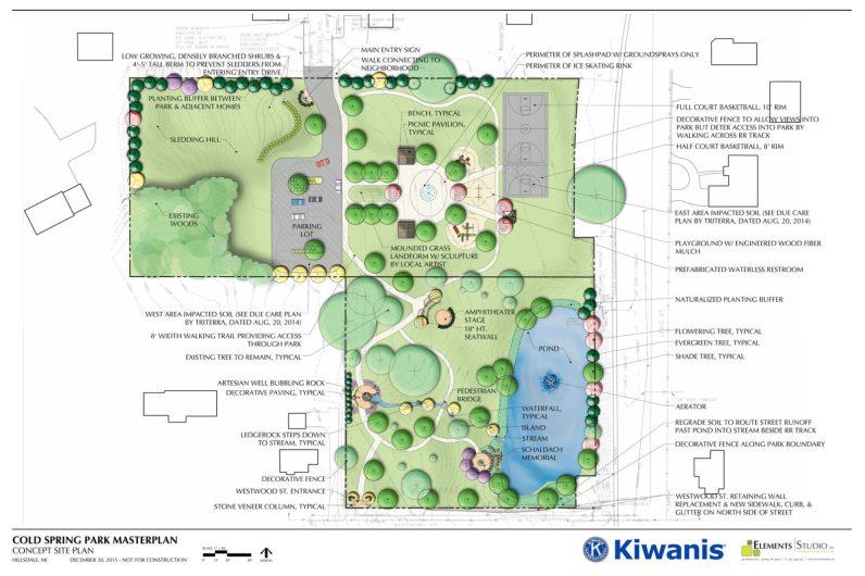 Cold Spring Park Site Plan