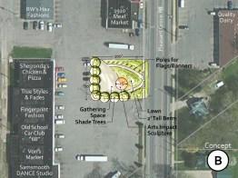 Town Square-Concept B