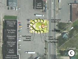 Town Square-Concept C