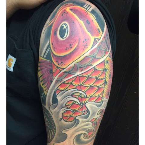 eddie tana tattoo khoi fish