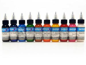 Intenze Tattoo Ink 10-Set - 1 oz