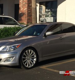 20 inch mrr hr9 wheels on 2012 hyundai genesis sedan w specs element wheels [ 1500 x 968 Pixel ]