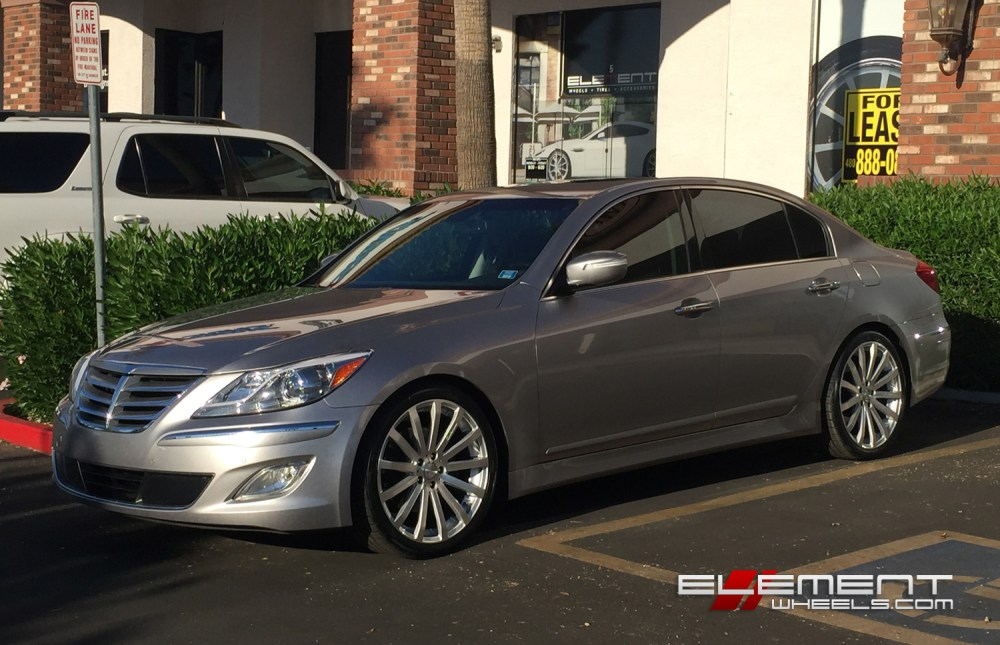 medium resolution of 20 inch mrr hr9 wheels on 2012 hyundai genesis sedan w specs element wheels