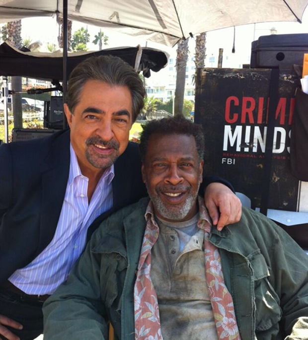 foto da internet Joe Mantegna e Meschach Taylor