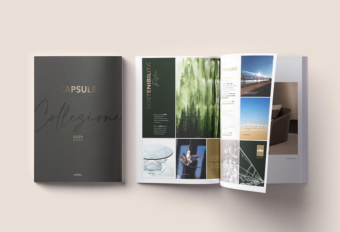 Catalogo Capsule 2020 Reflex sostenibilità