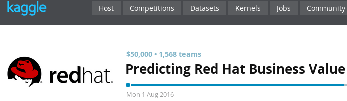 PySpark for RedHat Kaggle competition - Elena Cuoco