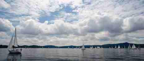 100 vele sul Lago di Viverone