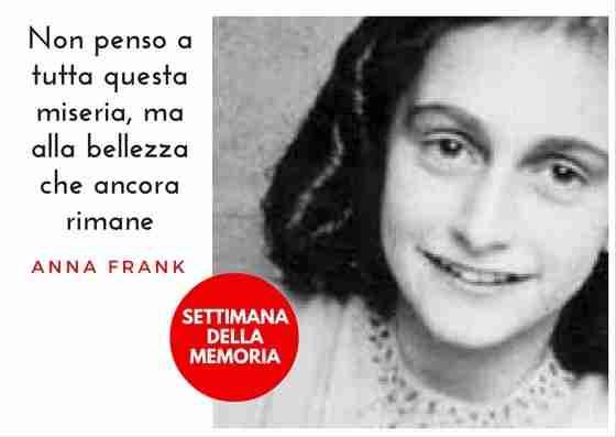 IL Diario di Anna Frank, testimonianza di un orrore che non deve ripetersi. Mai più.