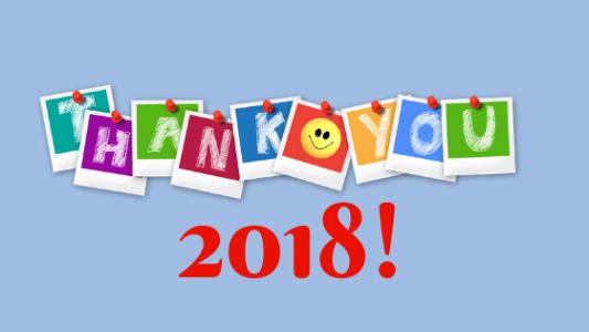 Tre cose di cui essere grata al 2018