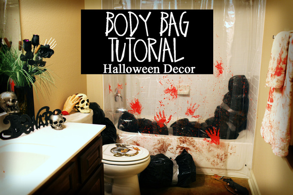 Body Bag Diy Halloween Decorations Dead Body Tutorial Inexpensive And Easy Decor Ideas Recycle Upcycle