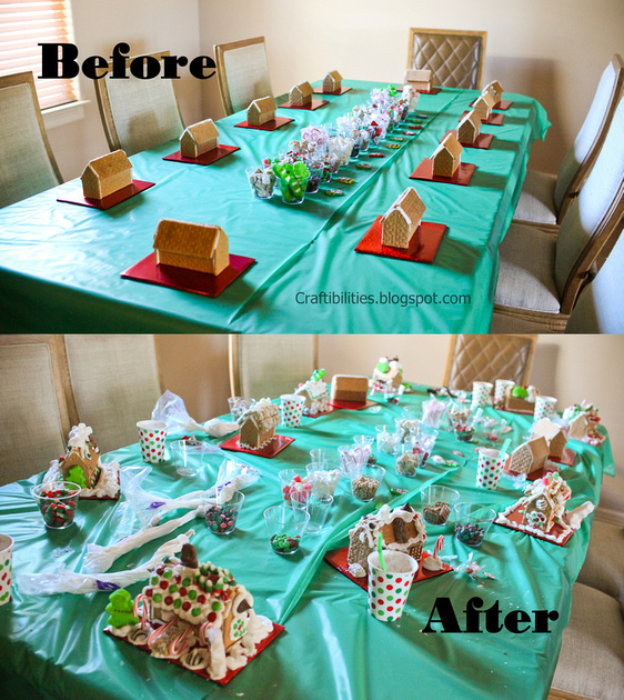 Graham Cracker GINGERBREAD House Decorating Party! Easy And FUN!!!