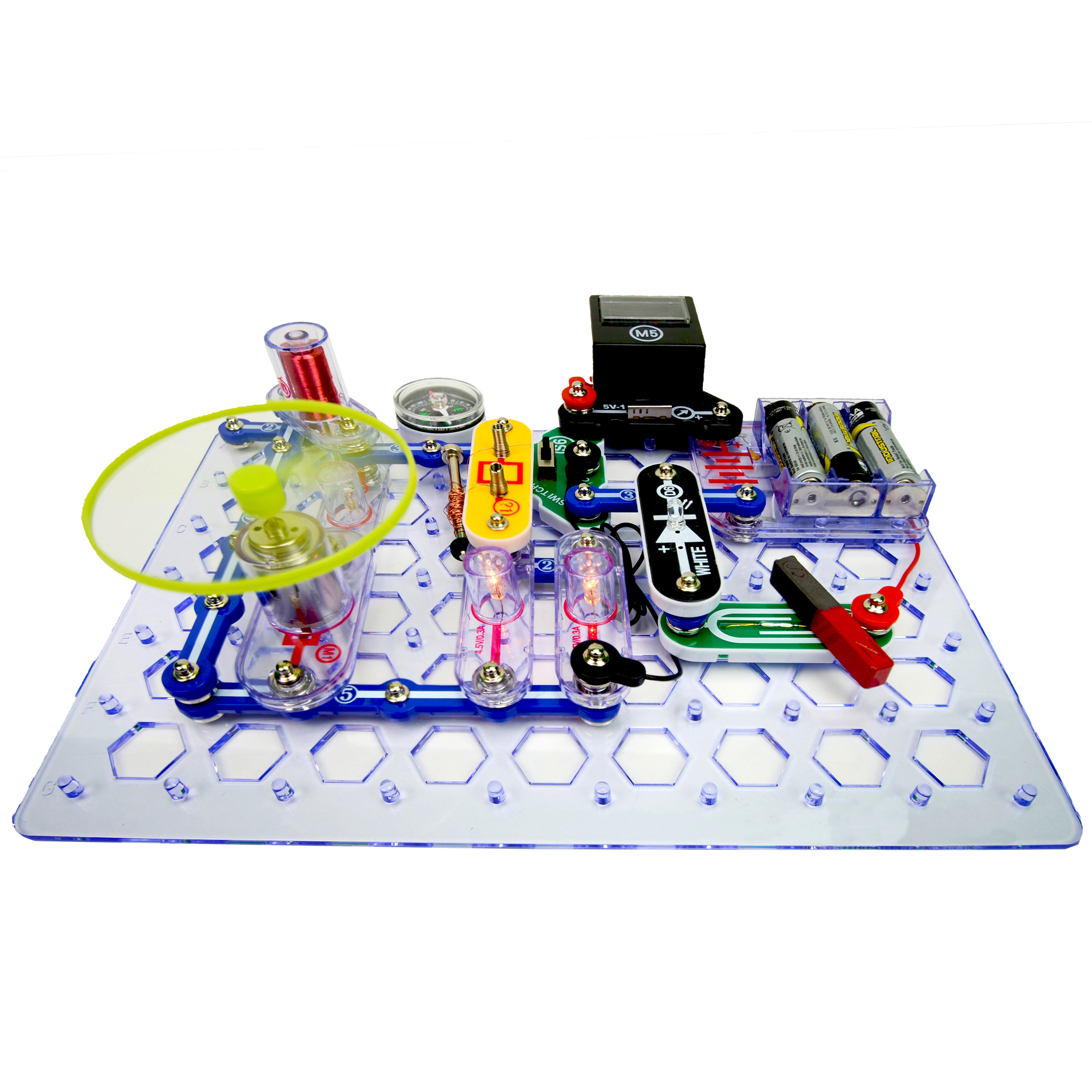 Simple Circuit Board For Kids Is A Printed Circuit Board