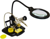 LED Magnifying lamp with third hand - Elenco