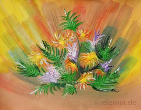 Spiel mit den Farben, von Elenija