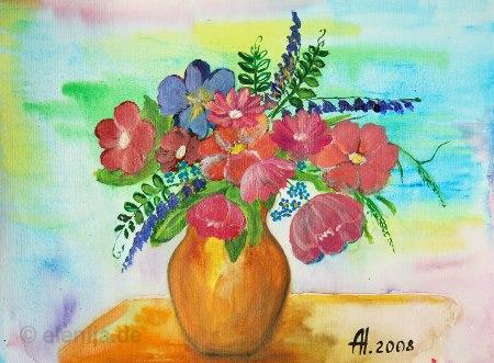 Blumen vom Lande, von Elenija