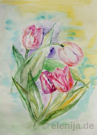 Die Blumen der Liebe, von Elenija