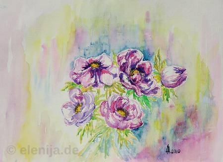 Violette Fantasie, von Elenija