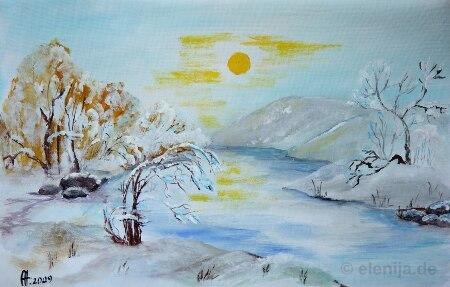 Erster Schnee 2, von Elenija
