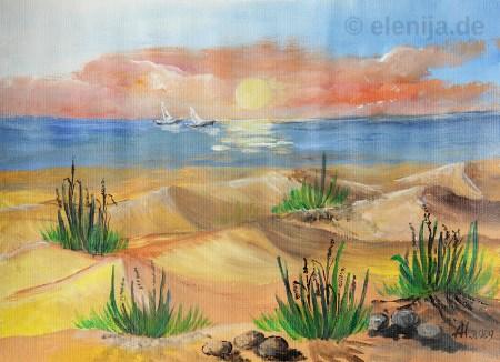 Dünen, von Elenija