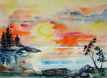 Die Leuchtende Sonne, von Elenija
