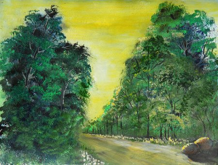 Waldweg, von Elenija