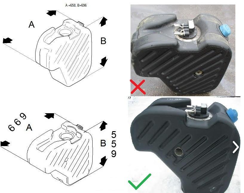 Adblue резервоар от Скания R420 E5 09' 2156615 2083054