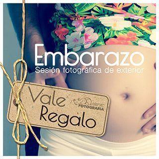 Vale regalo de sesion fotografica Embarazo en exterior elenircfotografia